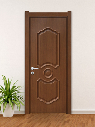YK-704 ECO-friendly waterproof easy install interior WPC door